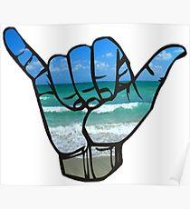 Shaka Beach Poster