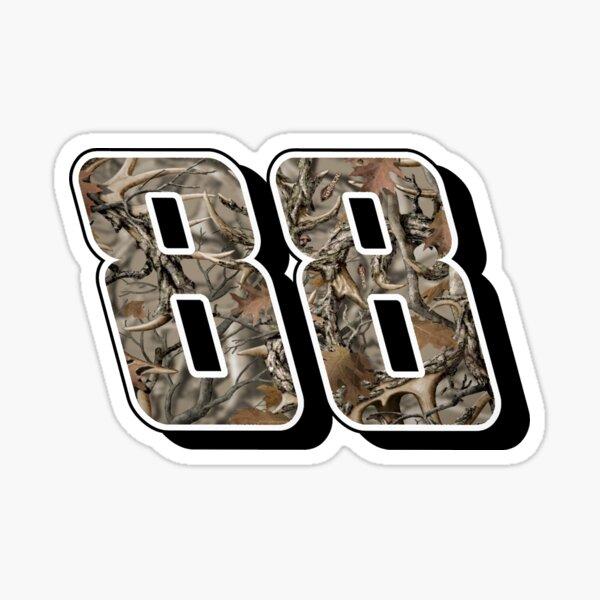 Dale Earnhardt Jr. #88 Camo Sticker