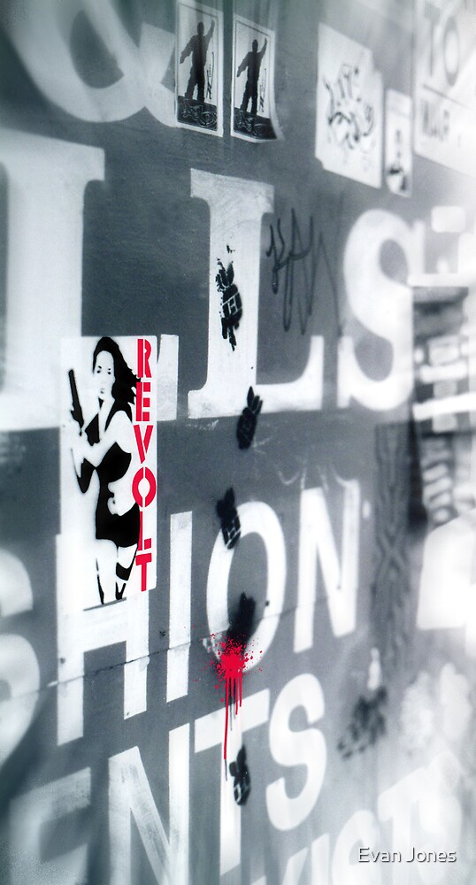 Revolt! Repeat! Rework! by Evan Jones