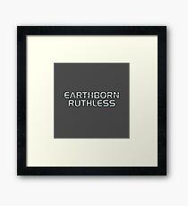 Mass Effect Origins - Earthborn Ruthless Framed Print