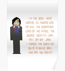 The IT Crowd – I'm The Boss Poster