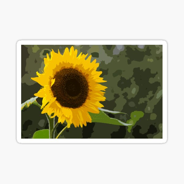 Oh Look !! Another Sunflower !!!! Sticker