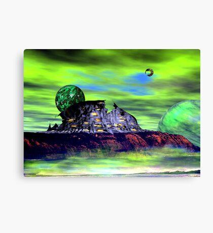 micks landing Canvas Print