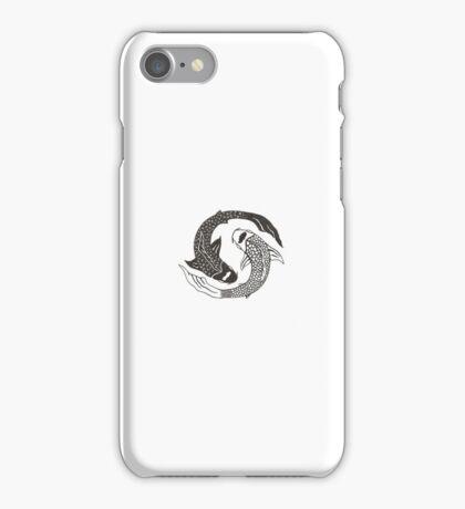 Yin-Yang Fish Symbol iPhone Case/Skin