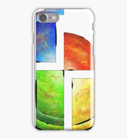 Blessinia - colourful sun iPhone Case/Skin