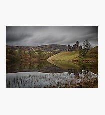 Morton Castle Photographic Print