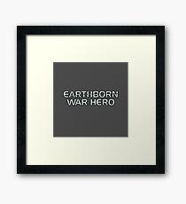 Mass Effect Origins - Earthborn War Hero Framed Print