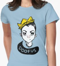 Boy King Womens Fitted T-Shirt