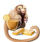 Chamomile, lemon bars, and a silky anteater by Kristen Bernabe