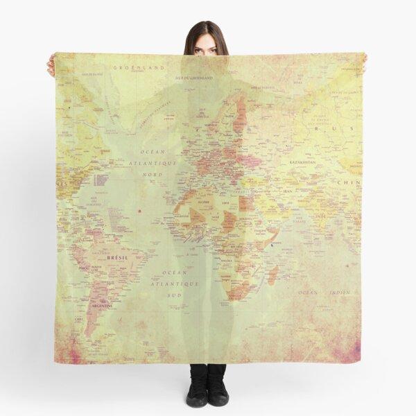 Cartina Mondo Emerso.Mondo Scarves Redbubble