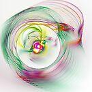 Swirling Twirling Whirling Colours by Benedikt Amrhein