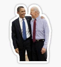 obama biden bff Sticker