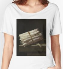 Adriaen Coorte - Still Life With Asparagus, 1697 Women's Relaxed Fit T-Shirt