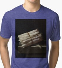 Adriaen Coorte - Still Life With Asparagus, 1697 Tri-blend T-Shirt