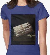 Adriaen Coorte - Still Life With Asparagus, 1697 Womens Fitted T-Shirt