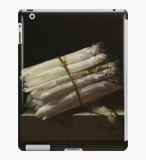 Adriaen Coorte - Still Life With Asparagus, 1697 iPad Case/Skin