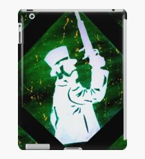 Haunted Mansion Duelist Silhouette 2 iPad Case/Skin