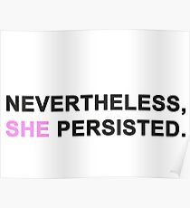 #ShePersisted Poster