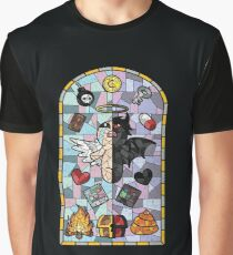 The Binding of Isaac, cathedral glass Graphic T-Shirt