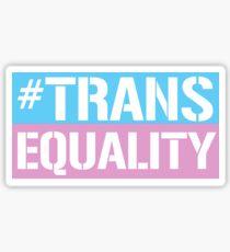 Trans Equality Sticker
