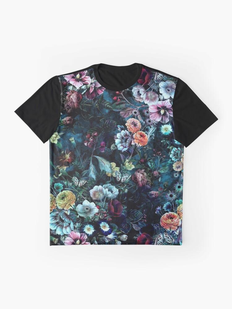 Alternate view of Night Garden Graphic T-Shirt