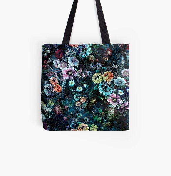 Night Garden All Over Print Tote Bag