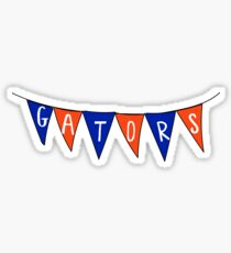 UF sticker pennants Sticker
