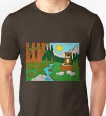Doc Bear in Woods Unisex T-Shirt