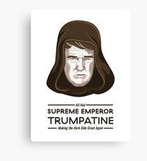 Supreme Emperor Trumpatine Canvas Print