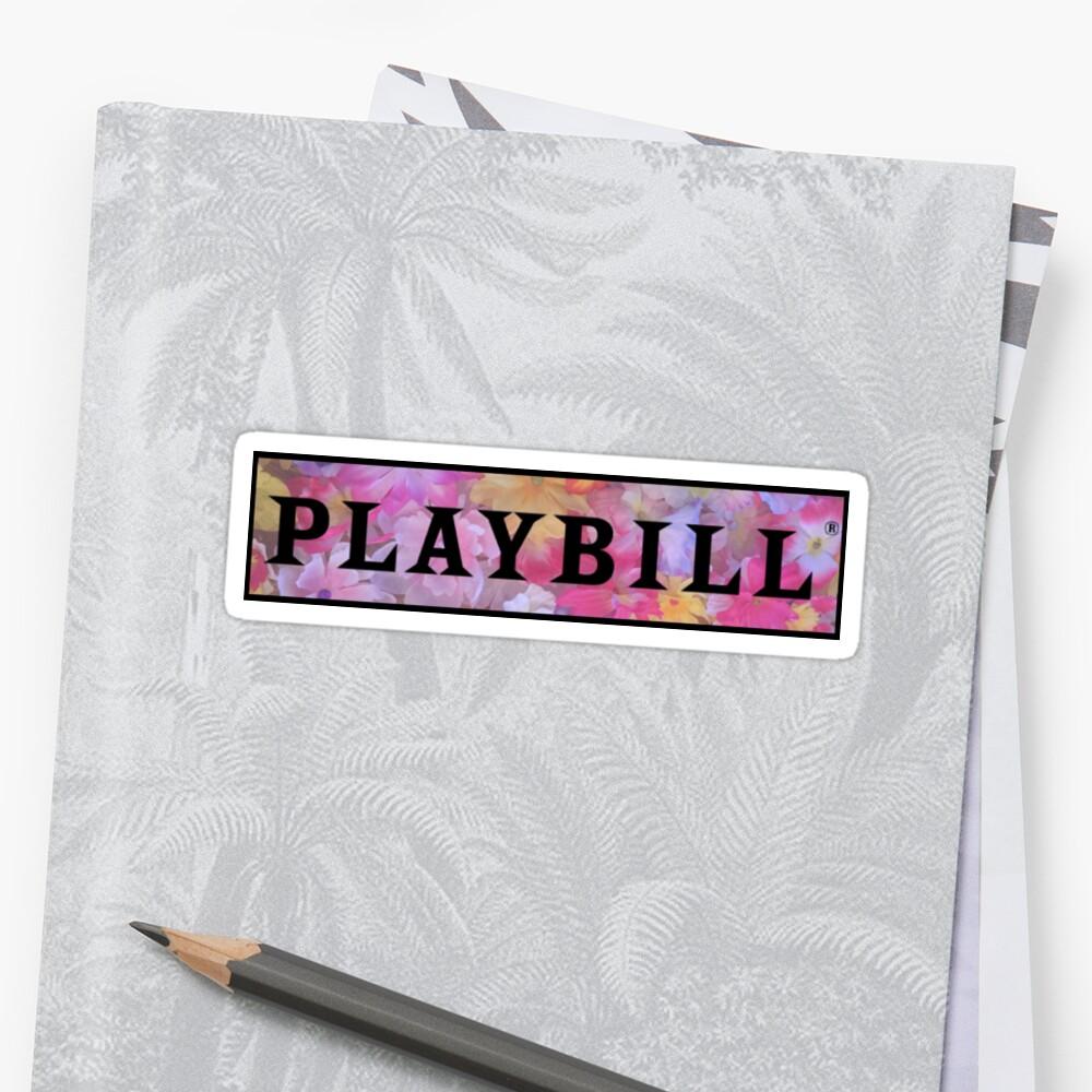 Playbill- Popular by abbiequail