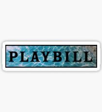 Playbill- Under the Sea Sticker