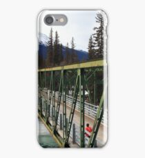 Bridge over Athabasca iPhone Case/Skin