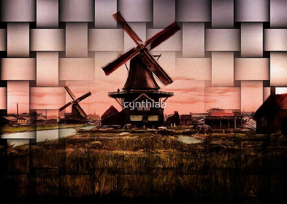 windmill by cynthiab