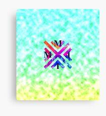 MMII Cloudy Blue-Green Gradient Canvas Print