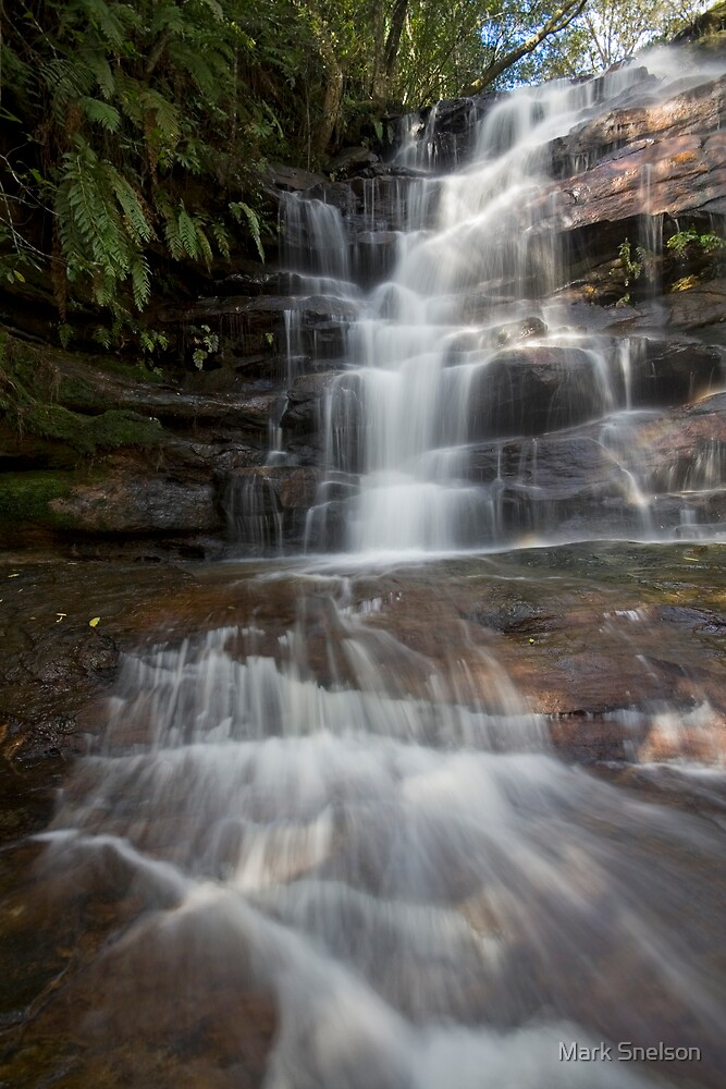 Somersby Falls 15 by Mark Snelson