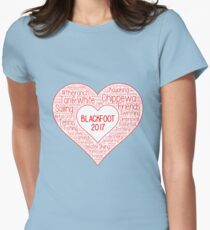 Blackfoot Womens Fitted T-Shirt