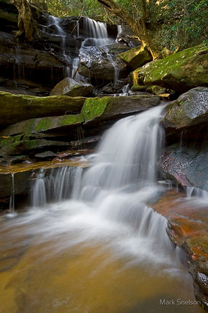 Somersby Falls 18 by Mark Snelson