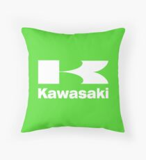 Kawasaki Throw Pillow