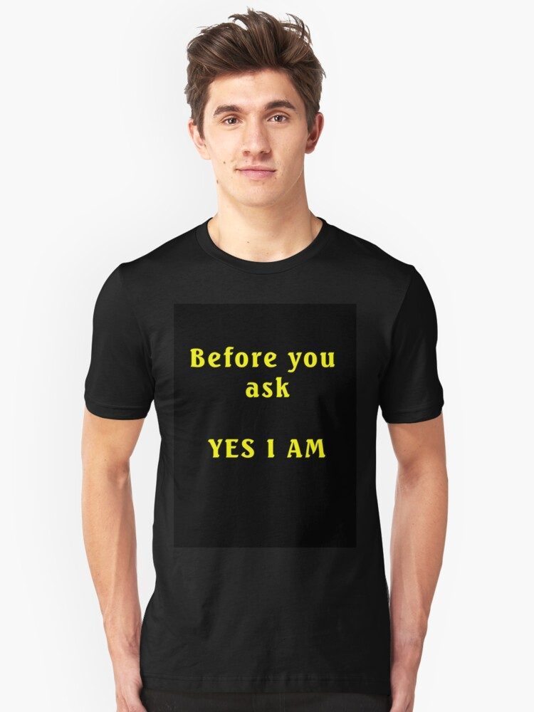 Yes I am by Jayson Gaskell