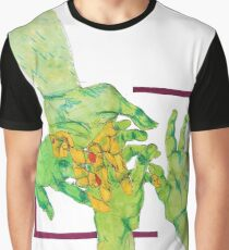 Overlapping Hands Graphic T-Shirt
