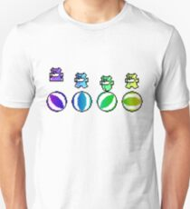 Angry Rainbow Beach Ball Bears T-Shirt