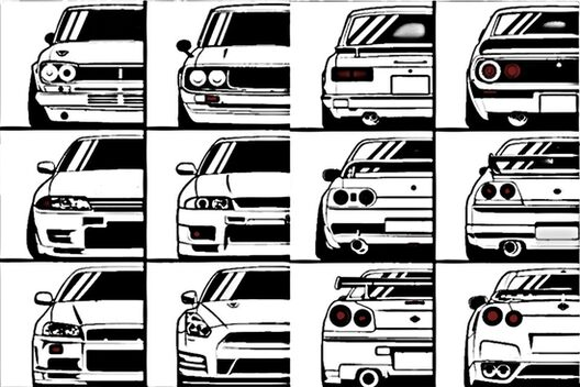 Nissan Skyline Story Canvas Prints By Garryx
