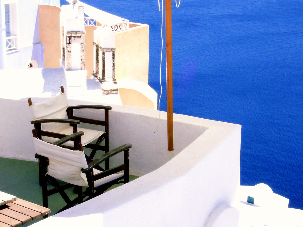 the terrace on the sea by honey