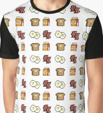 A Balanced Meal Graphic T-Shirt