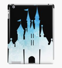 blue childhood dream - edit on black iPad Case/Skin