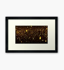 Kusama Infinity: Aftermath of Obliteration of Eternity Framed Print