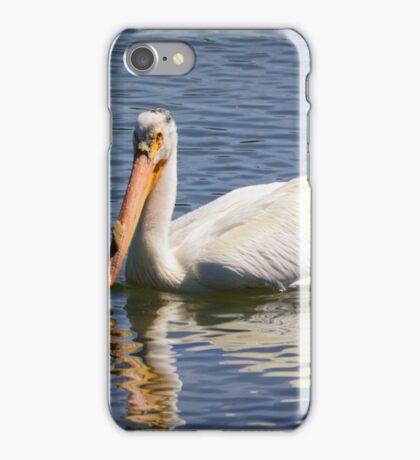 Pelican in Yellowstone iPhone Case/Skin