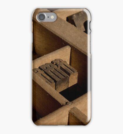 Type Tray iPhone Case/Skin