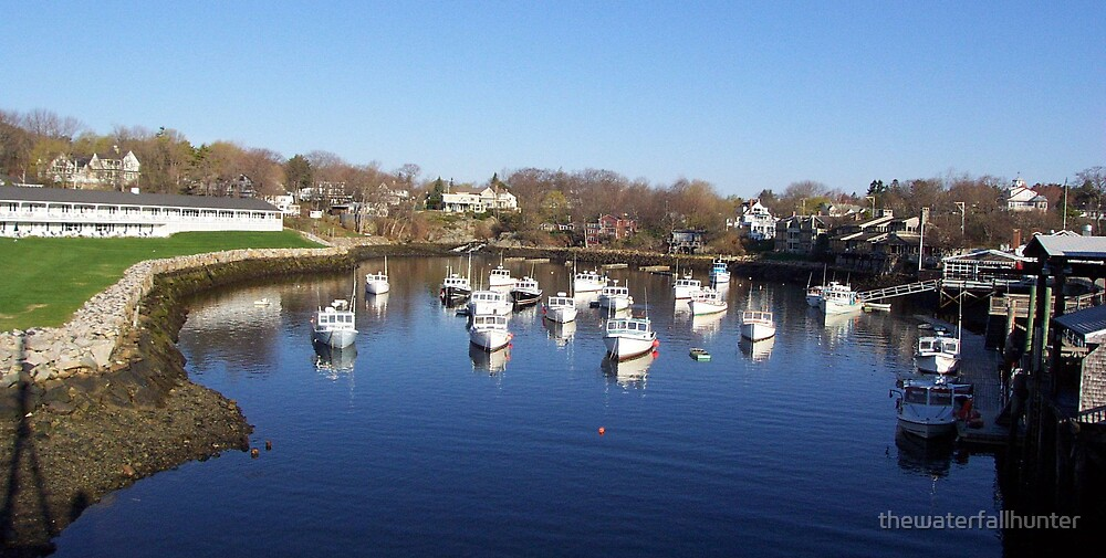 Perkins Cove by thewaterfallhunter