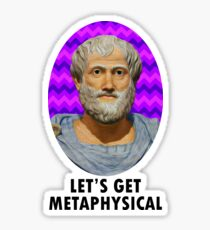 Aristotle Sticker